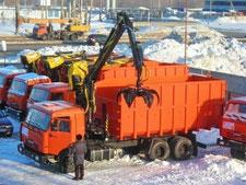 КАМАЗ 53229  ломовоз