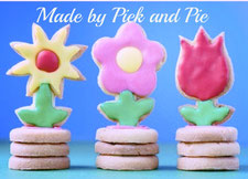 3D cookies, flowers, decorating cookies