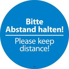 Please keep distance!