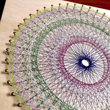 糸かけ曼荼羅の制作キット