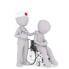 Ayez une infirmière pour tous vos soins