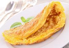 Omelette mit Speckgeschmack von Proweightless