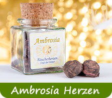 Ambrosia Räucherherzen kaufen Schweiz