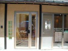 ガラスブロック フロントドア