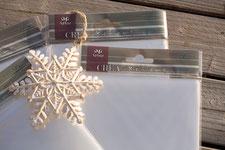 Schutzhüllen für Karten von ifolor, B6 131 x 187 mm Cellophanhüllen Cellophanbeutel Schutzhüllen für Karten, mit Selbstklebeverschluss, von Artoz