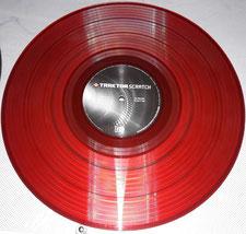 Traktor Timecode Vinyl red