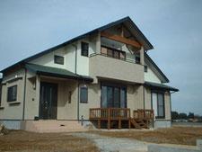 福島県西白河郡泉崎村建築の様子
