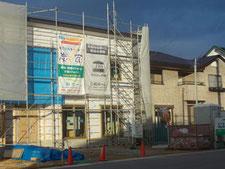 福島県会津若松市建築の様子