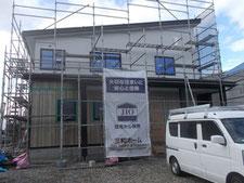 福島県内建築の様子