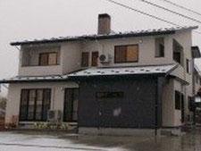 河東広田町建築の様子