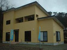 福島県会津美里町の建築の様子