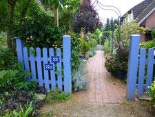 Garten-Einblick