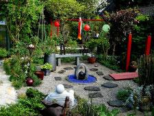 Asien-Garten Überblick