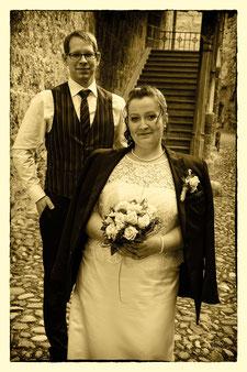Das sind mein Mann und ich am 27.6.2013