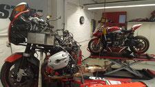 Spazialisiert auf BMW und Ducati