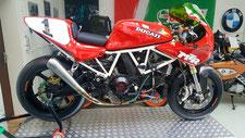 Racing Umbau,950ccm HC Kolben,Doppelzündung,