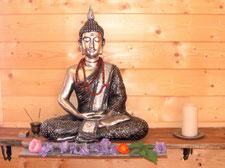 Buddha-Statue auf der Einsiedelei