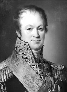 Général Charpentier, commandant la 36ème division d'infanterie