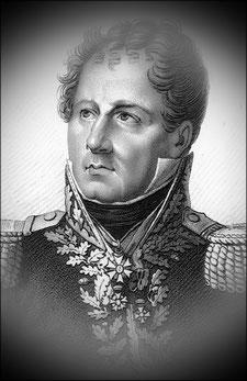 Général Fressinet, commandant la 1ère brigade, 31ème division d'infanterie