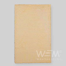 WEM Lehmplatte, Ergänzungsplatte - Decke, Wandheizung, Flächenheizung- und Kühlung,