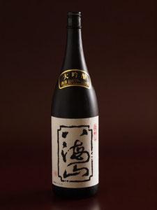 江別市のやま六鮨は、鮨にあう八海山 大吟醸をご用意