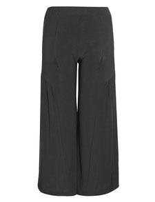 Damenhose mit Schlag in XXL schwarz