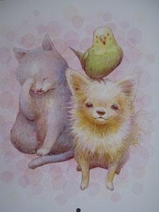 犬・猫の絵
