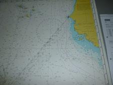 Kreuze in der Seekarte - so machen wir's auch!