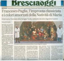 Francesco De Leonardis, Bresciaoggi