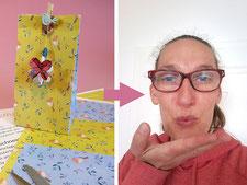 Bastelanleitung, DIY Idee Herz, Anhänger