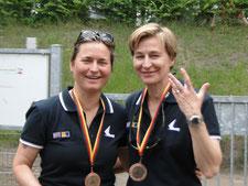 Claudia Gerwin und Katrin Berger (3. Platz)