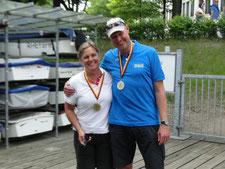 Bernd Sievers und Biance Dyckhoff (1. Platz)