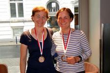 Claudia Gerwien und Kathrin Berger (2. Platz)