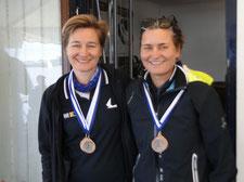 3. Platz Claudia Gerwien und Kathrin Berger