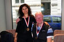 Bernd Sievers und Roya Ibrahimi (1. Platz)