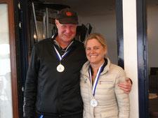 2. Platz Bernd Sievers und Bianca Dyckhoff