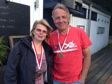 Rainer Hatje und Carina Meetz (3. Platz)