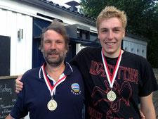 Uwe und Daniel Patrick Jürgensen (1. Platz)