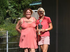 Sylvia Jörgensen und Yvonne Mejcher (6. Platz)