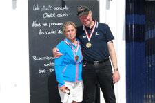 Bernd Sievers und Bianca Dyckhoff (1. Platz)