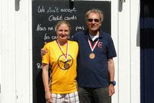 Heiner Bertram und Julia Jürgensen (3. Platz)