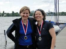 Susanna Stempfle-Albrecht und Claudia Gerwien (Zweiter Platz)