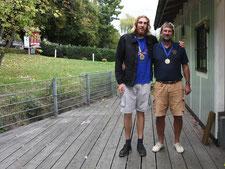 1. Platz Uwe und Daniel-Patrick Jürgensen