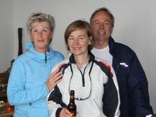 3. Platz Claudia Gerwien und (Ina Käßemodel nicht im Bild) von BSG BDF