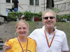 Heiner Bertram und Julia Jürgensen (2. Platz)