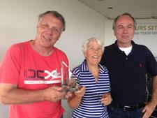 3. Platz Die Segler vom Sportverein Rot Gelb und Kai Callesen vom BSV