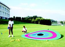 Cible géante pour jeux d'enfants. Cible pour balles ou disques de golf au meilleur prix.