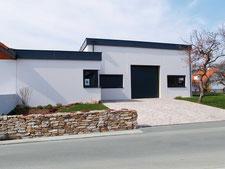 Baumeister Loibenböck Neubau Weinhalle Generalplanung ÖBA Bauaufsicht