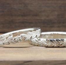 サンクイル岐阜が手掛けたオーダーメイドリング、結婚指輪の事例