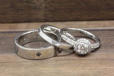 ご両親の結婚指輪を溶かしてオリジナルリングに